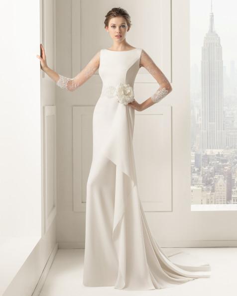Saeta vestido de novia Rosa Clara