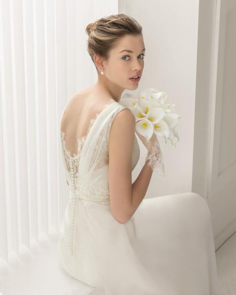 Santoña vestido de novia Rosa Clara