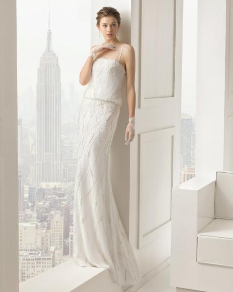 Sauce vestido de novia Rosa Clara