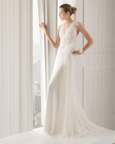 Siglo vestido de novia Rosa Clara