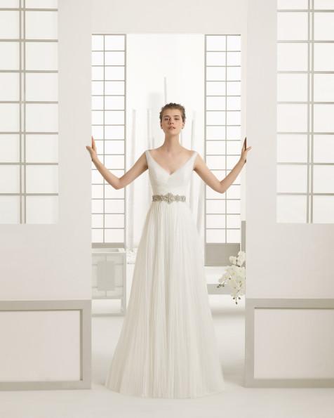 DANES vestido de novia Rosa Clará 2016