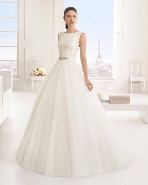 EDURNE  vestido de novia Rosa Clará Two