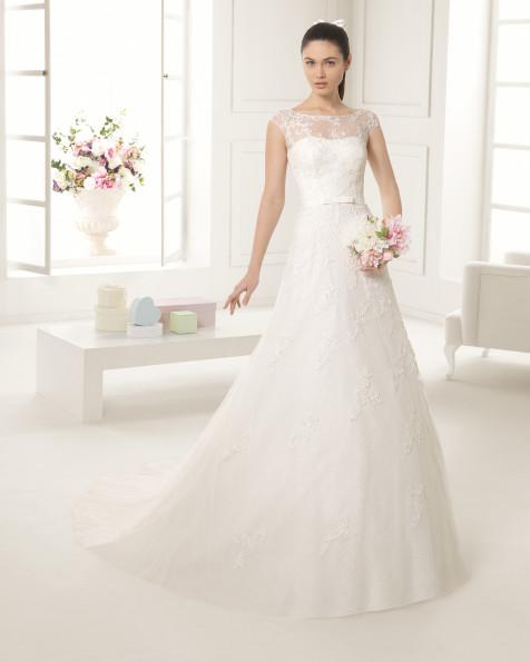 ELECTRA  vestido de novia Rosa Clará Two