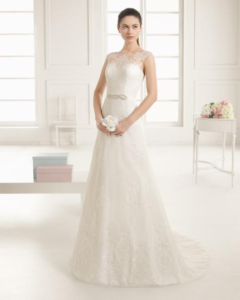 ELEGANTE  vestido de novia Rosa Clará Two