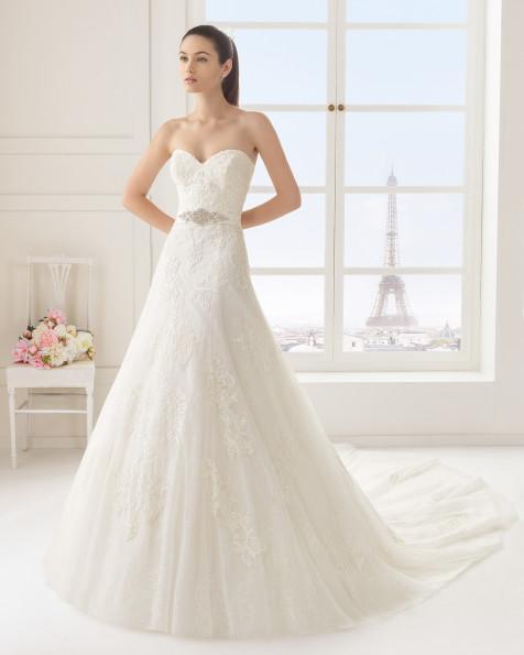 ELENA  vestido de novia Rosa Clará Two
