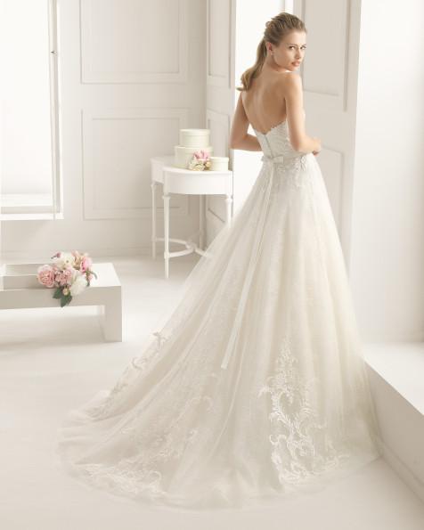 ELENCO  vestido de novia Rosa Clará Two