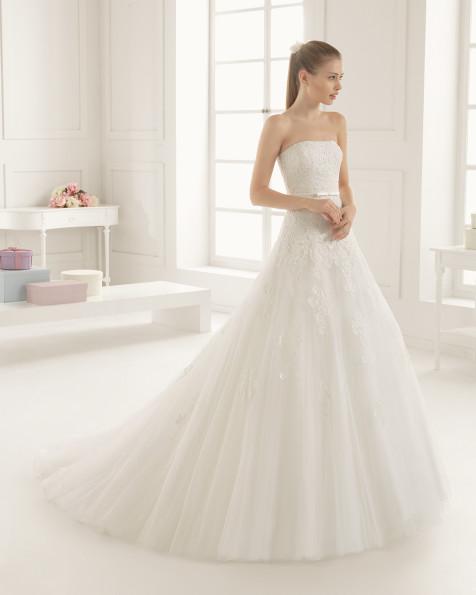 ELIPSE  vestido de novia Rosa Clará Two