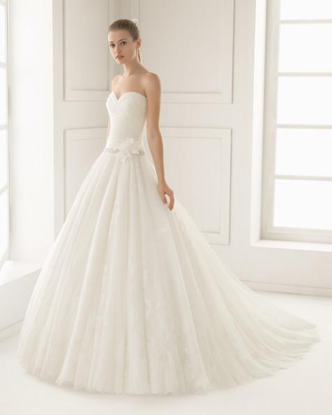 ELITE   vestido de novia Rosa Clará Two