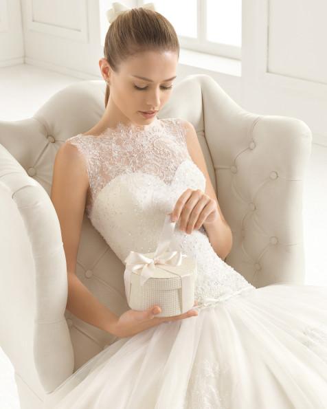 ELIXIR  vestido de novia Rosa Clará Two
