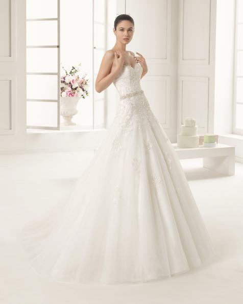 ELI  vestido de novia Rosa Clará Two