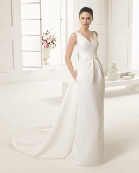 ELSA  vestido de novia Rosa Clará Two