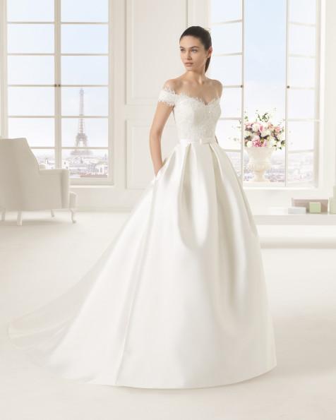 EMILIA  vestido de novia Rosa Clará Two