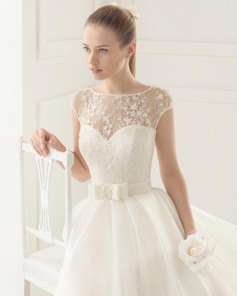 ERIKA vestido de novia Rosa Clará Two