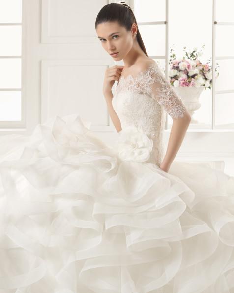 ESPIRAL vestido de novia Rosa Clará Two