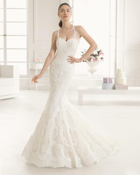 ESTIRPE vestido de novia Rosa Clará Two