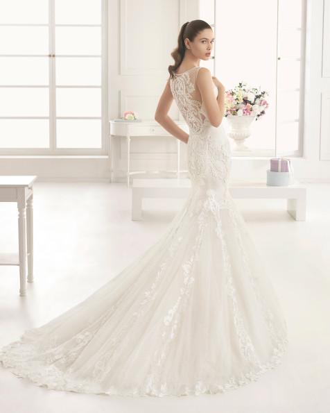 ESTRADA vestido de novia Rosa Clará Two