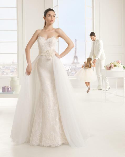 EVA vestido de novia Rosa Clará Two