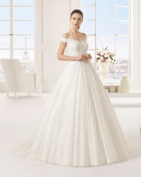 EXITO vestido de novia Rosa Clará Two