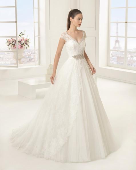 EXOTICO vestido de novia Rosa Clará Two