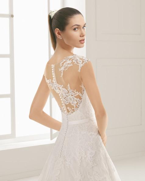 EXUBERANTE vestido de novia Rosa Clará Two