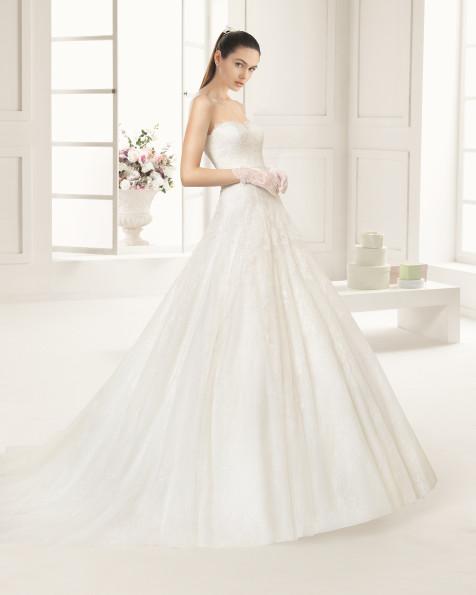 REDIL  vestido de novia Rosa Clará Two