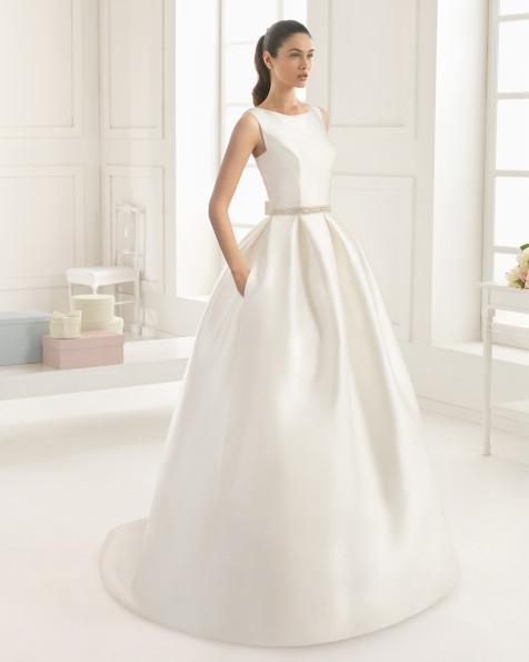 RIBA  vestido de novia Rosa Clará Two