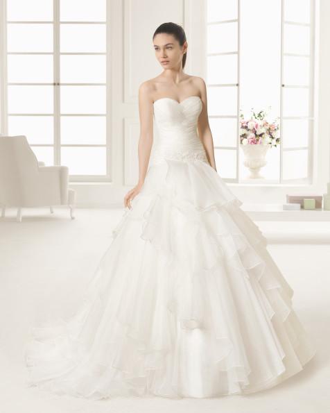 RODY  vestido de novia Rosa Clará Two