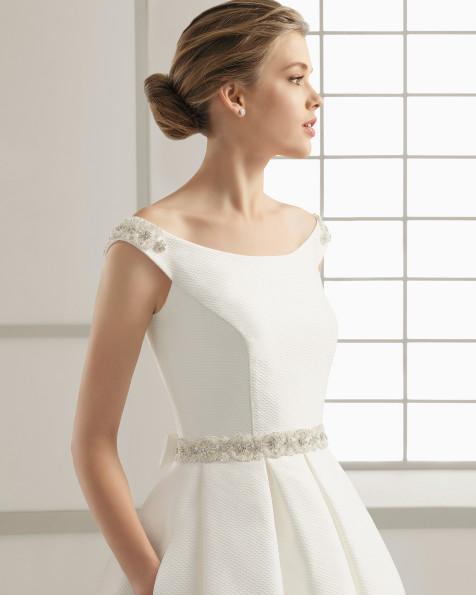 SAMARA vestido de novia Rosa Clará 2016