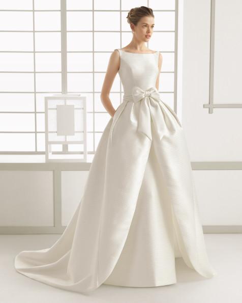 SANDRINE vestido de novia Rosa Clará 2016