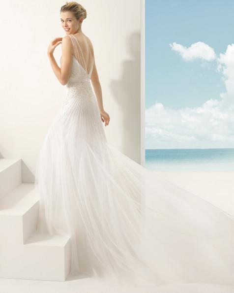 VELETA vestido de novia Rosa Clará Soft 2016