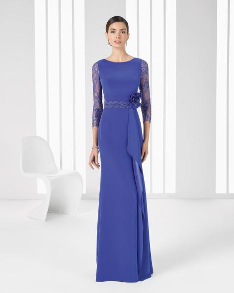 9T189 Vestido de Cocktail de Rosa Clará 2016