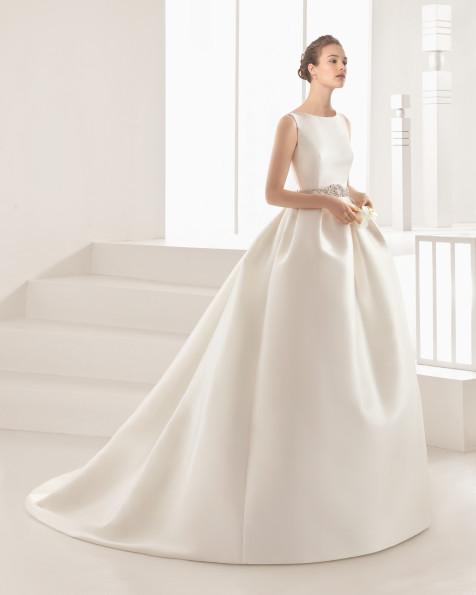 DELFOS vestido de novia Rosa Clará 2017