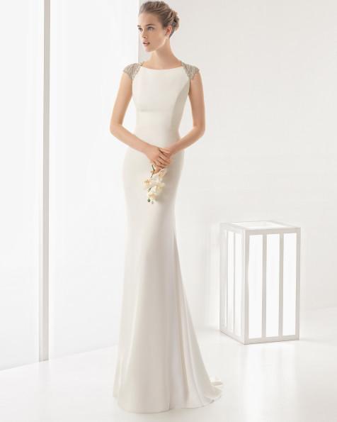 DEMOS vestido de novia Rosa Clará 2017