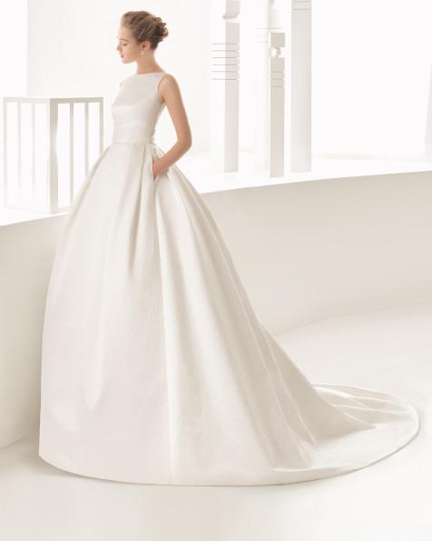 DESTINO vestido de novia Rosa Clará 2017