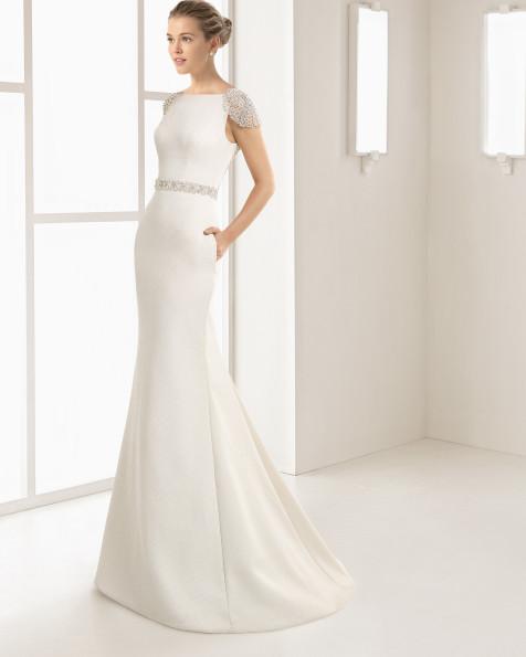 ELOISA vestido de novia Rosa Clará Two 2017