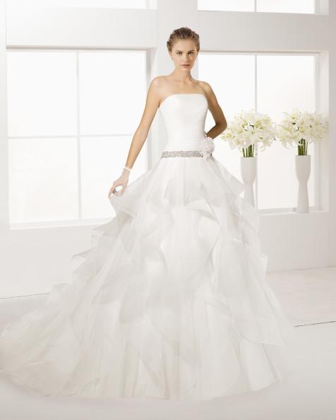 EMPERADOR robe de mariée Rosa Clará Two 2017