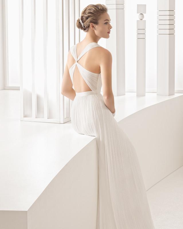 Nacel vestido de novia Rosa Clará 2017
