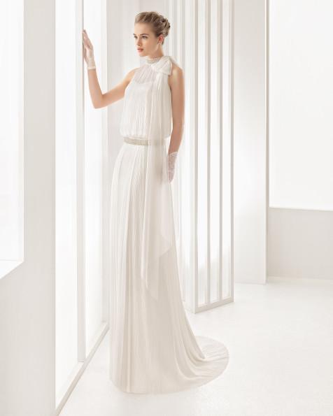 Nadia vestido de novia Rosa Clará 2017