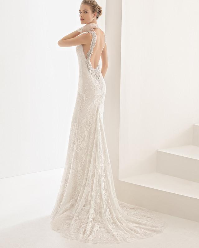 Naila vestido de novia Rosa Clará 2017