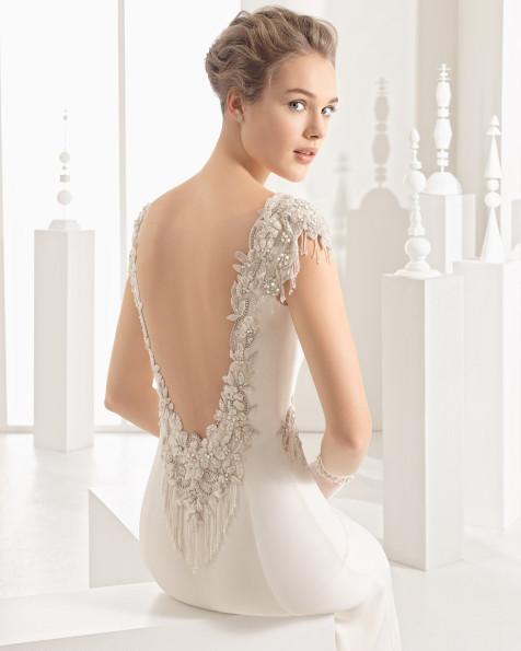Naipe vestido de novia Rosa Clará 2017