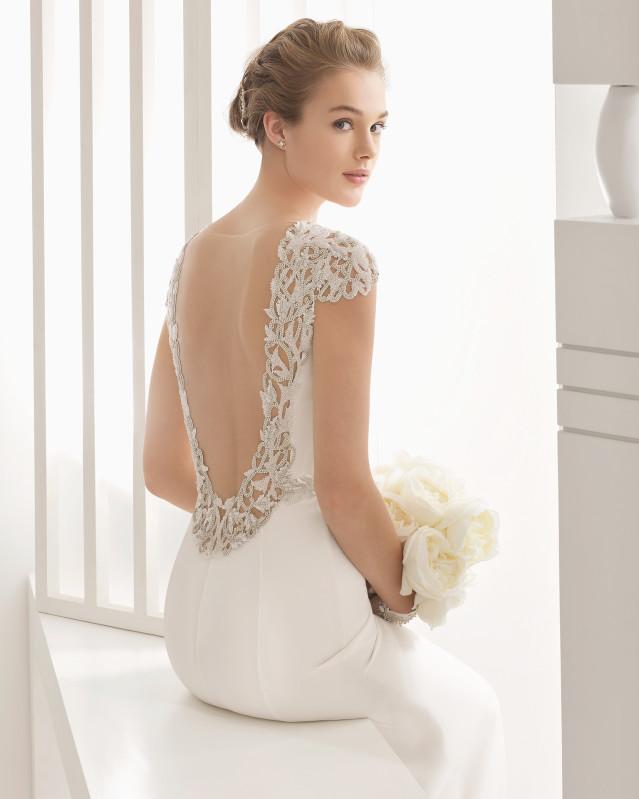Naira vestido de novia Rosa Clará 2017