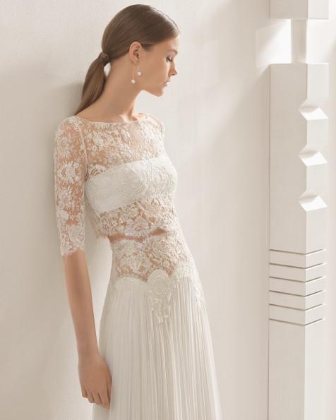 Nardo vestido de novia Rosa Clará 2017