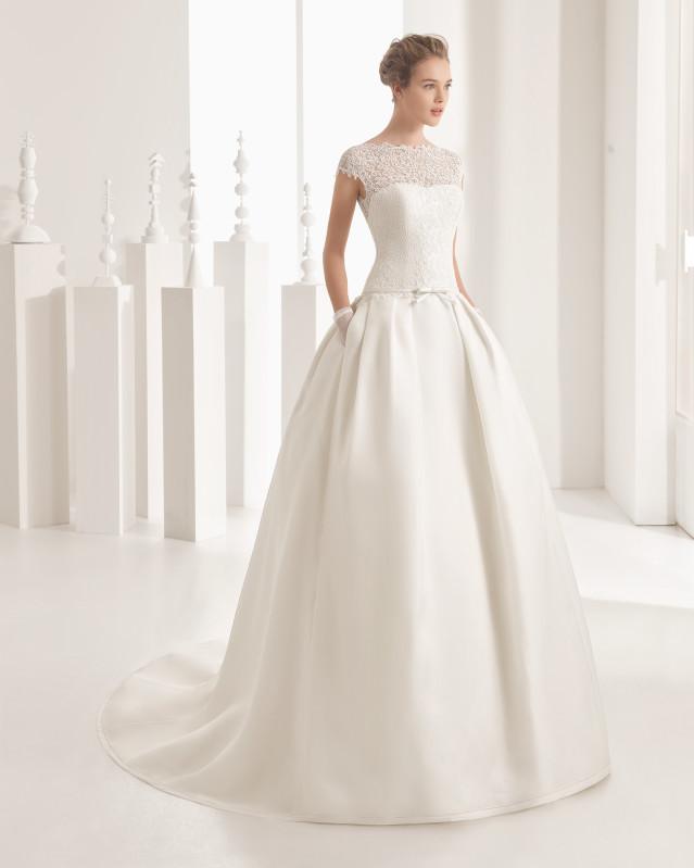 Naser vestido de novia Rosa Clará 2017