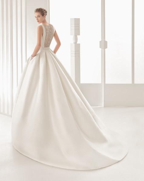 Navar vestido de novia Rosa Clará 2017