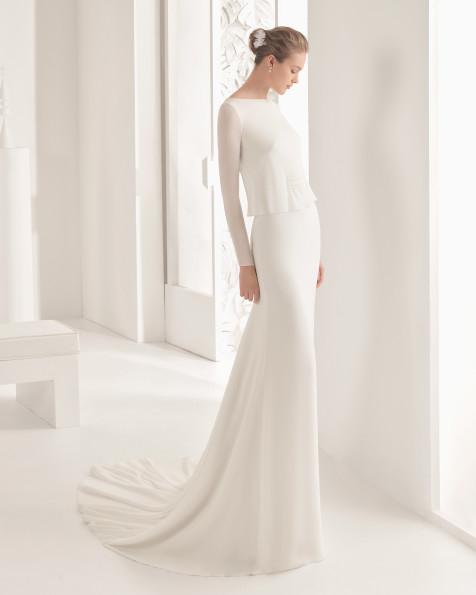 Navet vestido de novia Rosa Clará 2017