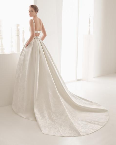 Nazar vestido de novia Rosa Clará 2017