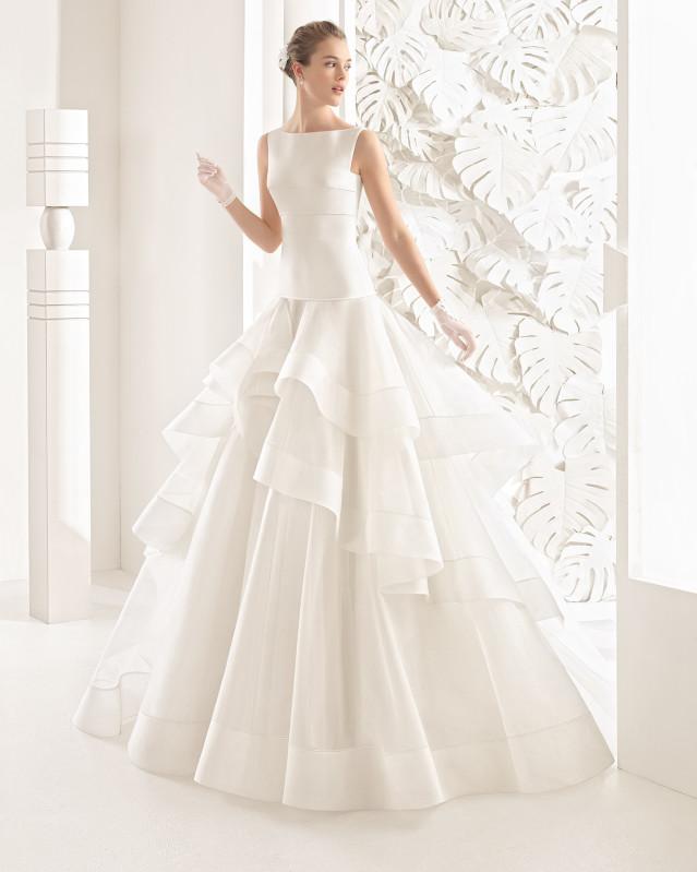 Nebraska vestido de novia Rosa Clará 2017