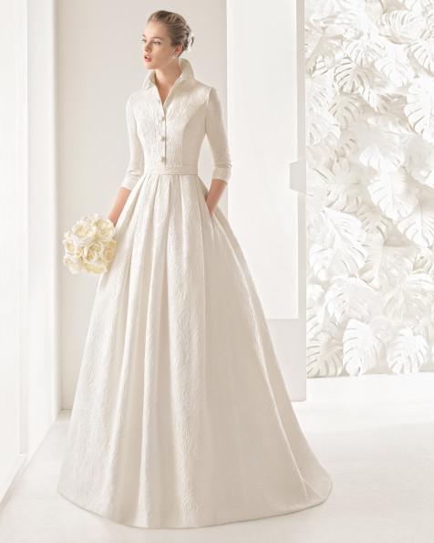 Nefer vestido de novia Rosa Clará 2017