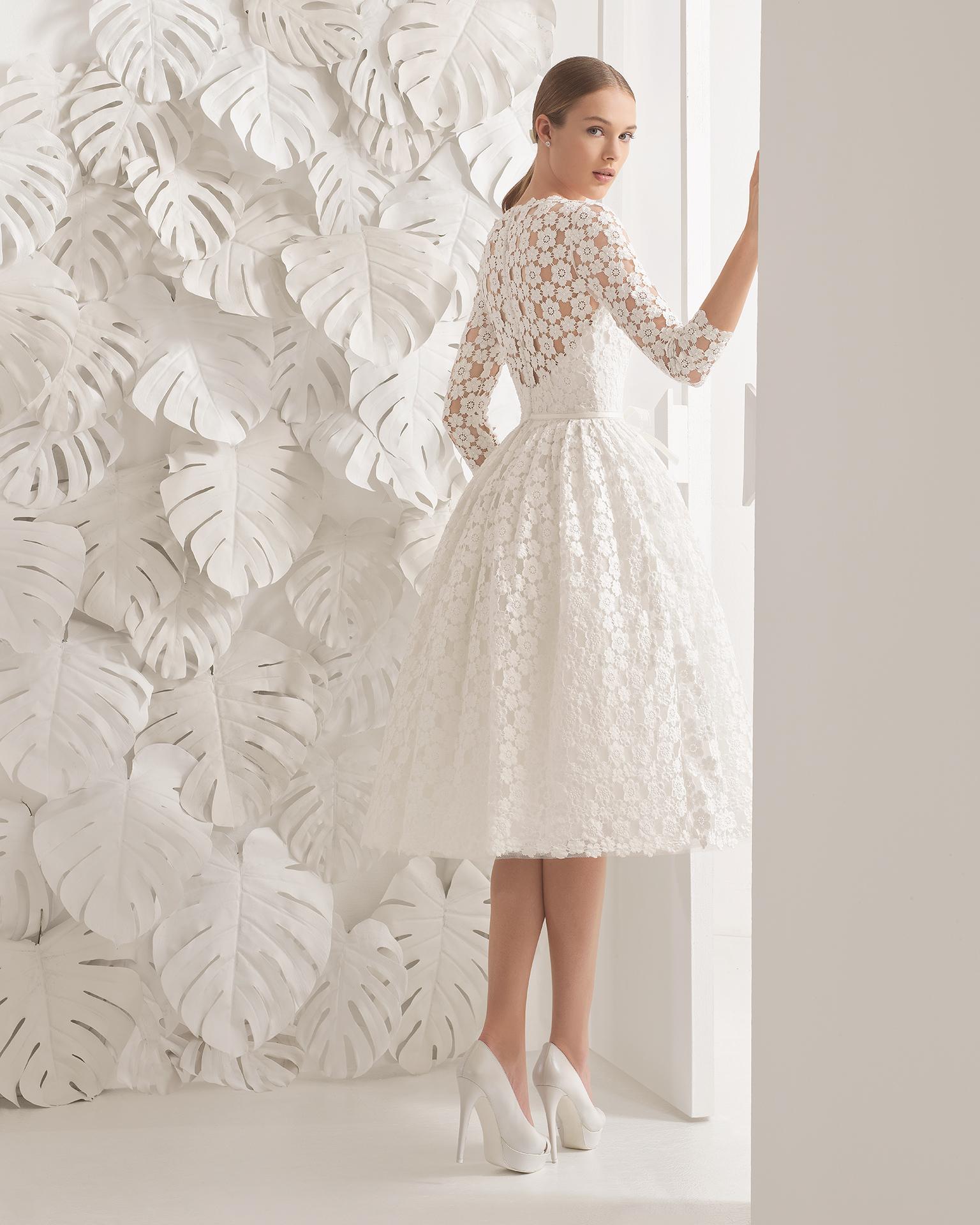 Vestidos de novia con guipur