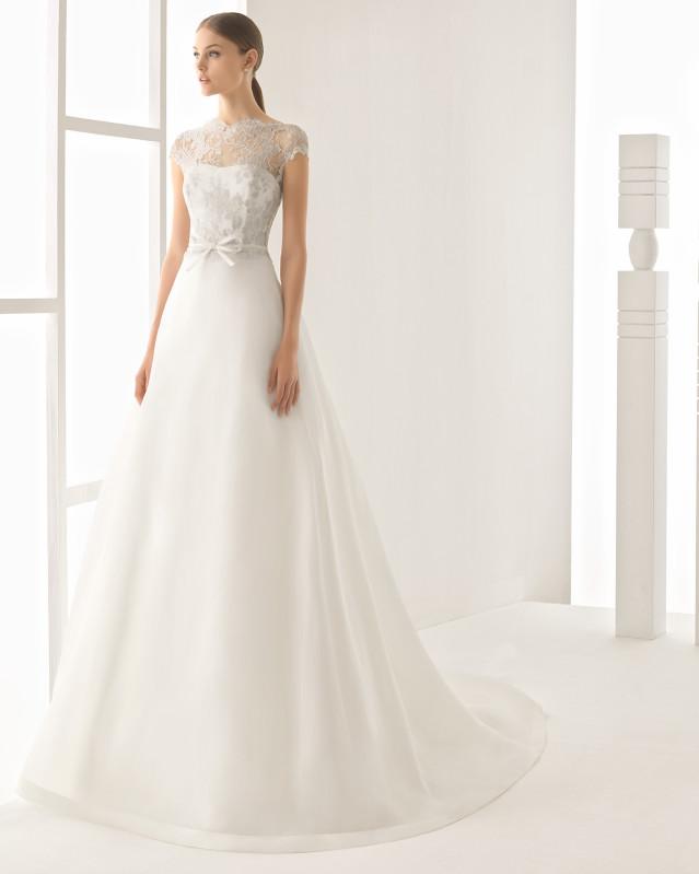 Nerja vestido de novia Rosa Clará 2017